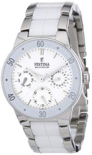 Festina Damen-Armbanduhr XS Trend Multifunktion Chronograph Keramik F16530/1