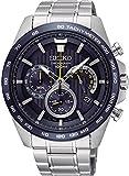 Seiko Herren Chronograph Quarz Uhr mit Edelstahl Armband SSB301P1