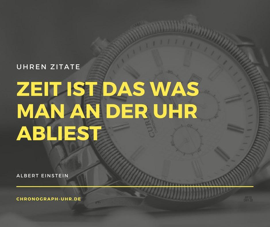 Uhren Zitat Einstein