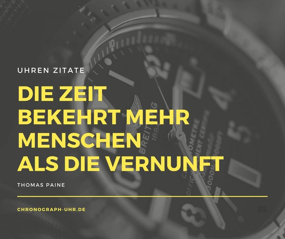Uhren Zitat Paine